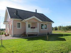 Älvsbytalo Suometar , 2 h+k+s, 81 m² + yläkerta 38 m²-51 m²