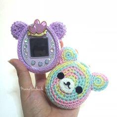 Tamagotchi crochet cover : amigurumi