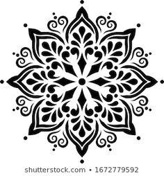 Mandala Canvas, Mandala Artwork, Mandala Dots, Mandala Drawing, Mandala Design, Wall Stencil Patterns, Stencil Art, Stencil Designs, Stencils Mandala
