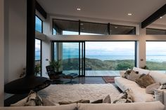 GD7 Indoor hanging gas fireplace for Brendon Gordon Architects