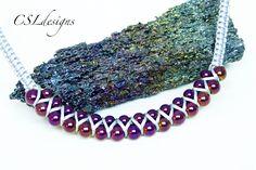 Goddess macrame necklace