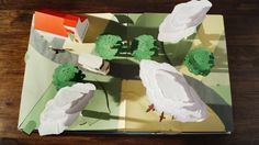 With Yves Geleyn and our good friends at Leo Burnett London, we helped Kellogg's create its first ever master brand campaign for the UK, a 'seed to spoon' story shown in reverse. Yves' method of craft on this: a pop-up book filled with intricate moving parts and characters. With an ambitious papercraft construction at hand and all animation to be done in camera, this was a technical feat to a high magnitude. To pull it off, we collaborated with talented pop-up book ...