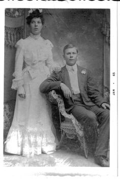 Grandpa Gray's wedding picture
