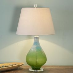 Scavo Art Glass Table Lamp