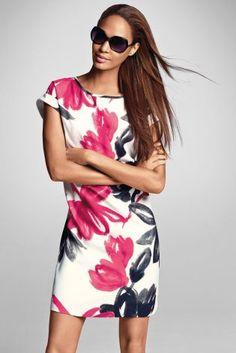 Floral Dress - can't believe I got this dress in the sale for £22 when it's still full price online! #bargain