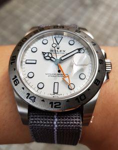 Rolex Explorer Ii, Watches, Omega Watch, Mesh, Accessories, Clocks, Wristwatches, Fishnet, Jewelry Accessories