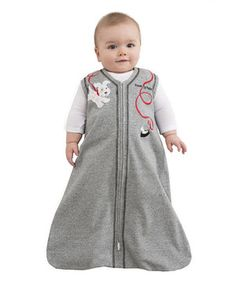 Love this Halo Gray Puppy Treat SleepSack - Infant by Halo on #zulily! #zulilyfinds