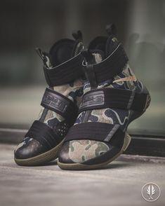 """Nike Lebron Soldier 10 Sfg"" Bamboo"