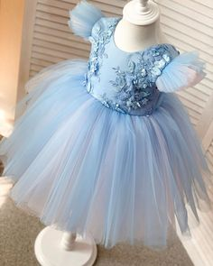 Baby Girl Birthday Dress, Baby Girl Party Dresses, Toddler Girl Dresses, Birthday Dresses, Girls Dresses, Flower Girl Dresses, Tulle Skirt Dress, Baby Girl Dress Patterns, Baby Frocks Designs