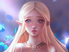 Fond d'écran Zelda; Princesse Zelda