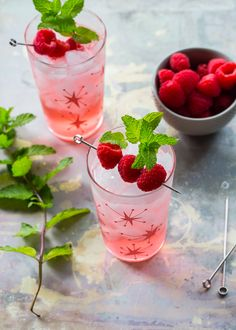 This raspberry shrub drink recipe will make for fantastic summer cocktails. Add your favorite spirit!