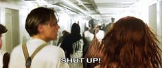 They seem to be the only ones who know that at least half the people on the ship will die. #gif