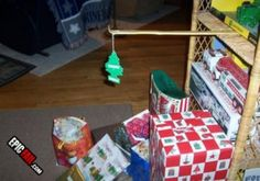 College Kids: The perfect college Christmas tree. Not only funny, but useful too! Redneck Christmas, Christmas Humor, Merry Christmas, Cheap Christmas, Christmas Ideas, Christmas Presents, Christmas Smells, Christmas Time, Tacky Christmas