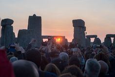 Pin for Later: Around the World With the Week's Best Photos Summer Solstice People snapped pictures of the sunrise at Stonehenge in Wiltshire, England, to mark the Summer solstice.
