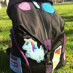 KathieKreativ stickt - Patch it up - Festivalbag