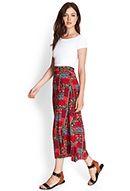 Patchwork Floral Maxi Skirt