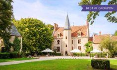 Château de Sallay**** à Magny Cours : Gastronomie au cœur de la Bourgogne: #MAGNYCOURS 79.00€ au lieu de 164.40€ (52% de réduction)