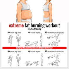 Extreme Fat Burning Workout