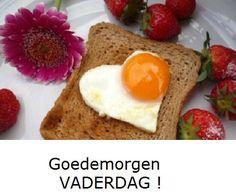 Goedemorgen het is vaderdag ! Verwen je hem met een ontbijt op bed ?