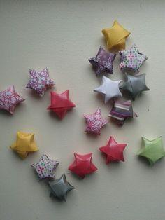 Gelukssterretjes of lucky stars: leuk om te maken en ze zijn zo klaar