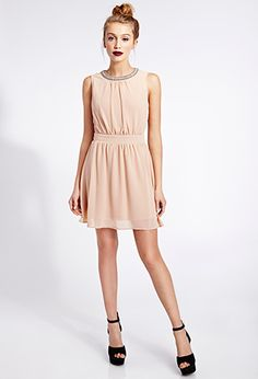 Cocktail Hour Beaded Dress from Forever Saved to Epic Wishlist. Nude Cocktail Dresses, Plus Size Cocktail Dresses, Blush Dresses, Bridesmaid Dresses, Bridesmaids, 21 Dresses, New Years Eve Dresses, Bridesmaid Inspiration, Holiday Dresses