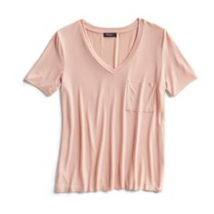 Spring Stylist Picks: Salmon color t-shirt
