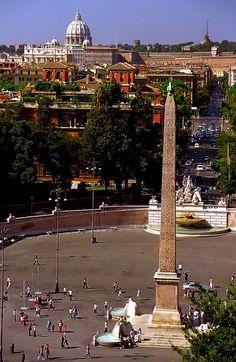 Piazza del Popolo, Rome, Italy (von David Paul Ohmer)