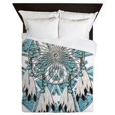 I love this dream catcher bed spread