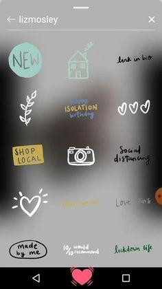 Instagram Emoji, Iphone Instagram, Story Instagram, Instagram And Snapchat, Instagram Blog, Instagram Quotes, Creative Instagram Stories, Instagram Editing Apps, Snapchat Stickers