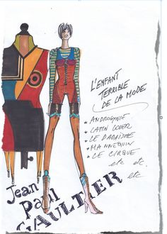 Gaultier by Beatrice Brandini www.beatricebrandini.it