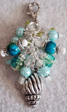 Your place to buy and sell all things handmade Sea Jewelry, Charm Jewelry, Jewelry Crafts, Beaded Jewelry, Handmade Jewelry, Beaded Bracelets, Beaded Crafts, Artisan Jewelry, Jewellery