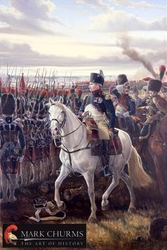SOLDIERS- Churms: NAPOLEON AT FRIEDLAND 1807, by Mark Churms.