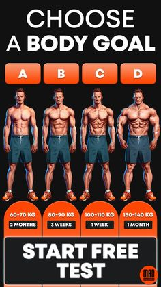 MadMuscles.com - personalized workouts for men. Take a quiz to pick a workout according to your goals and body parameters🔥 Training programs include exercises for arms, abs, core muscles. With or without equipment. Visit the site to start your body transformation! #Fitness #Workout #Gym #GainMuscle #Assistance #AbsWorkouts #WorkYourAbs #GetSixPacksFast #SixPackAbs Home Workout Men, Gym Workouts For Men, Workout Plan For Men, Gym Workout Tips, Chest Workouts, Fit Board Workouts, At Home Workouts, Workout Motivation, Workout Programs For Men