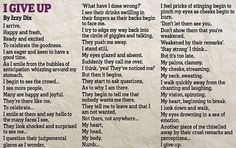 Izzy Dix's mother Gabbi has released the poem to show how her 14-year-old daughter was affected by bullies - time for change