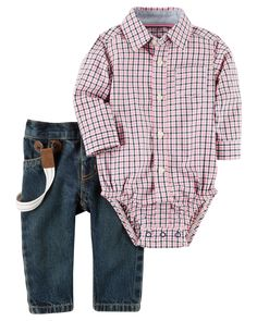 Clothing, Shoes & Accessories Impartial Next Baby Boys Adjustable Waist Jeans 12-18 Months Warm And Windproof Bottoms