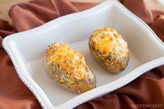 Batata Recheada | Alho Francês