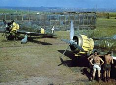 Italian Macchi C.200 «Saetta» fighters on the Eastern Front