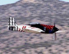 """Riff Raff"" Hawker Fury Reno Air Racer"