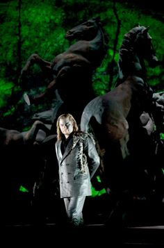 René Pape es Wotan en la rendición de Die Walküre en la Staatsoper Unter den Linden. (Foto Monika Rittershaus)