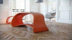 Nuvska Mesa y la Unidad de cajón porción Nuvist Arquitectura y Diseño de Muebles para el Hogar categoría