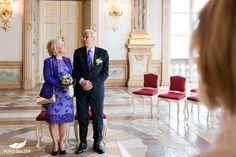 Ja-Wort bei Hochzeit in Mirabell, Salzburg