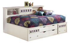 Zayley Full Bookcase Bed - My dtr wants this...to  bad she has to wait for me to get a new bed!