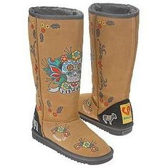 Day of the Dead LA Kitson boots...love these for schlepping around