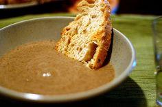 balthazar cream of mushroom soup by smitten, via Flickr
