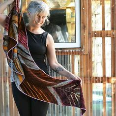 Create your own adventurous, one-of-a-kind shawl!