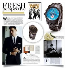 """""""JORD Wood Watches 07*"""" by cano315 ❤ liked on Polyvore featuring ChanningTatum"""