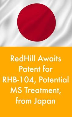 RedHill Awaits Patent for RHB-104, Potential MS Treatment, from Japan #MulitpleSclerosisnewsToday