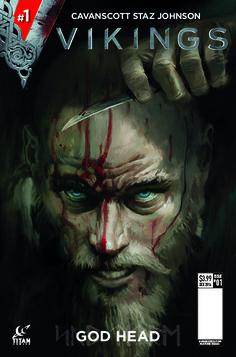 Ragnar Rocks On As TV's 'Vikings' Invade Comics - Cover A by Shane Pierce