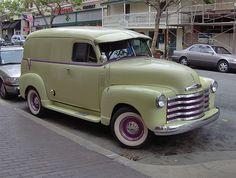 52 Chevy Panel Truck
