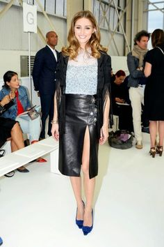 The Olivia Palermo Lookbook : Olivia Palermo at Christian Dior Cruise 2015 Show